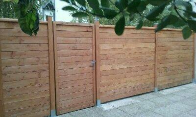 clôture séparative